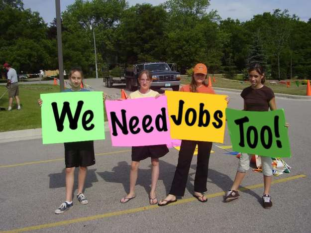 teens need jobs