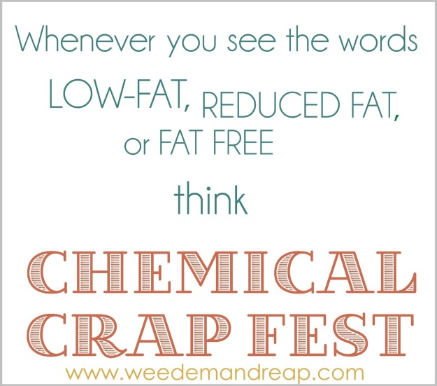 chemical crap fest