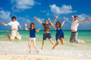 healthy-people-beach