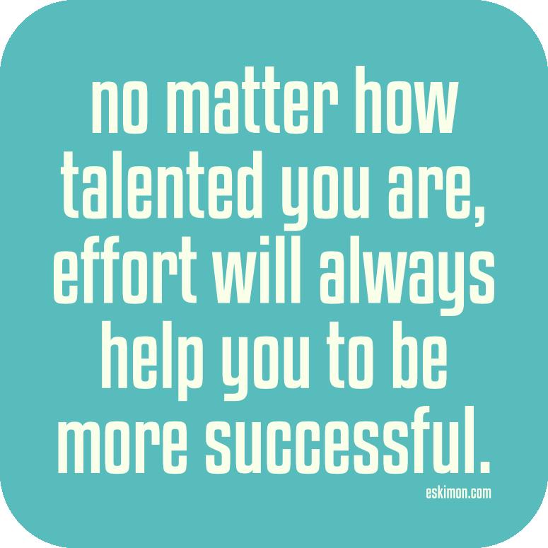 effort-determines-your-success
