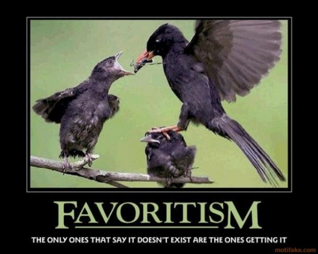 favoritism-bird-favoritisim-demotivational-poster-12605468976