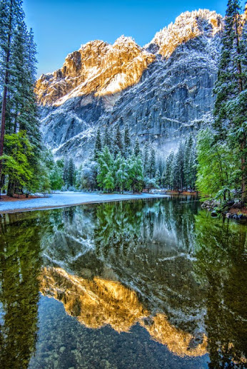 Yosemite Spring Storm, Merced River - Yosemite National Park by Mark Cote