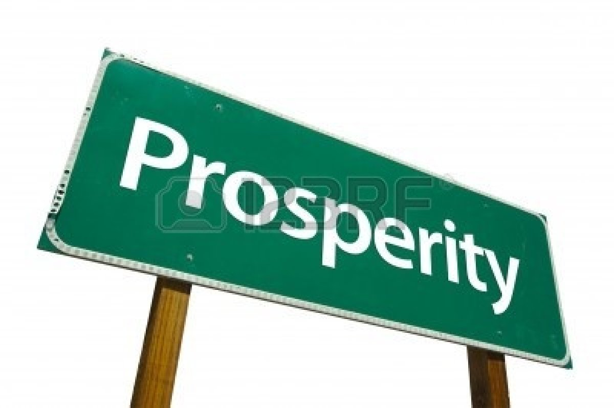 2644697-prosperity-road-sign-isolated-on-white-contains-clipping-path