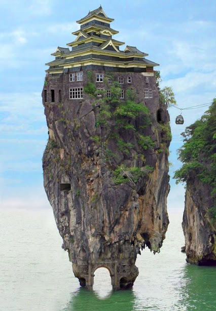 Amazing Rock House Thailand