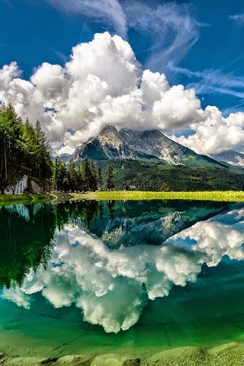 Alpine Lake by Nick_Moulds