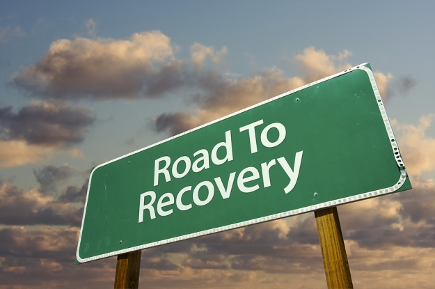 bigstock_Road_To_Recovery_Green_Road_Si_6957686