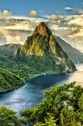 Saint Lucia, The Caribbaen