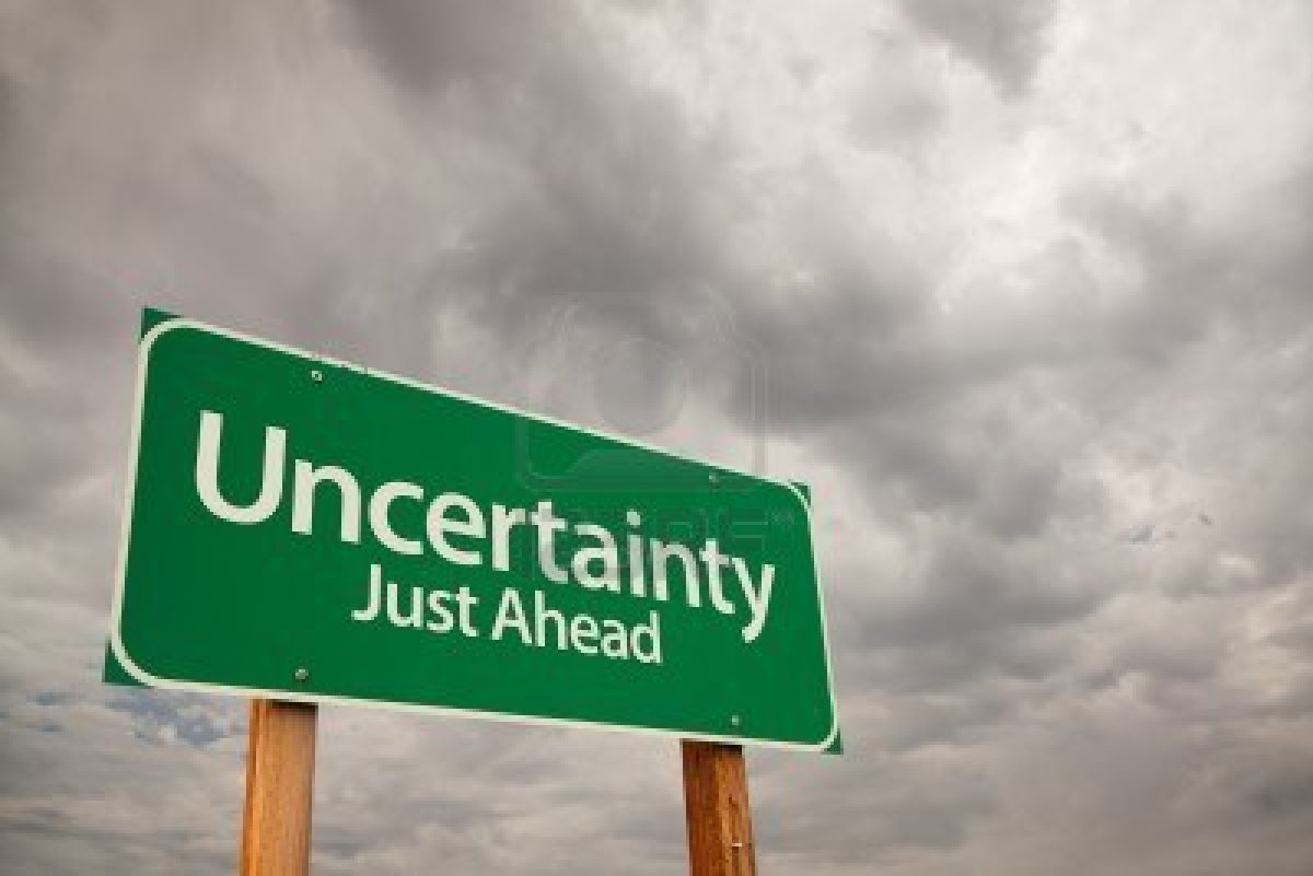 Image result for UNCERTAINTY OF FUTURE