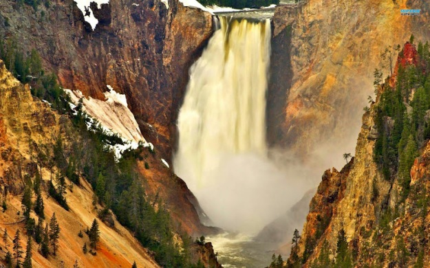yellowstone-falls-HD-wallpaper