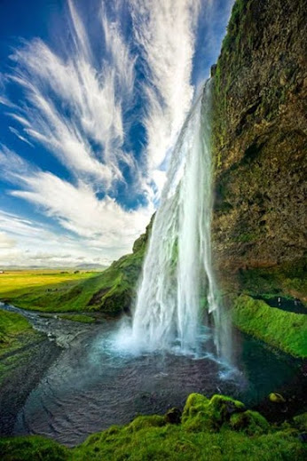 Selandjafoss Waterfall in Iceland.