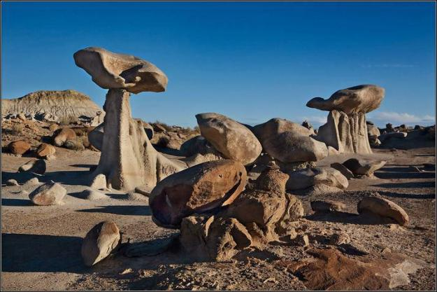 Bisti-Rock-Formations