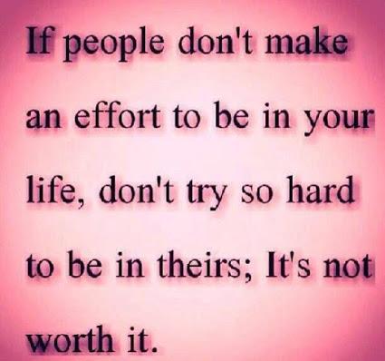 It is not worth it