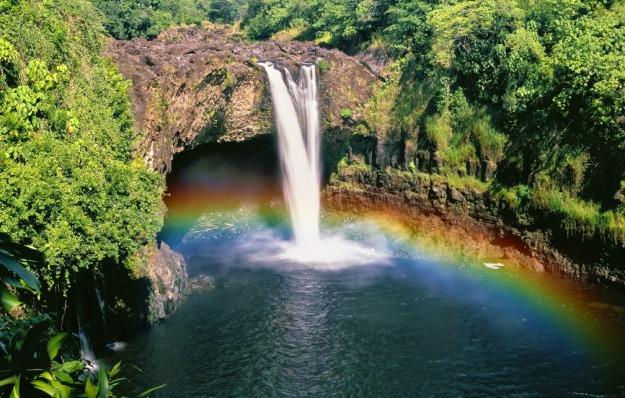 X-Rainbow Falls Hawaii