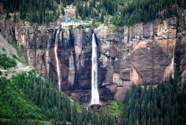 Bridal Veil Falls, Telluride, Colorado, USA.