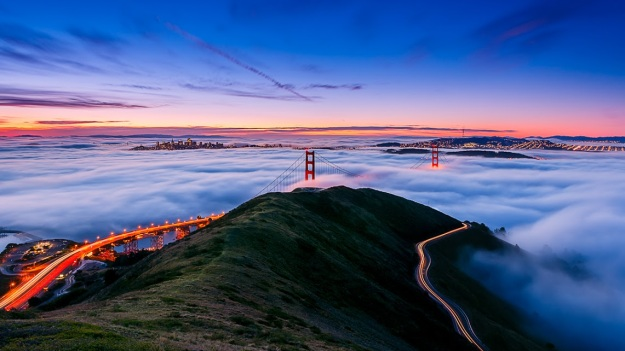 San Francisco's Golden Gate Bridge, California