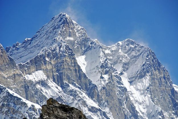 Kongma La 11 Lhotse West Face, Lhotse South Face. Lhotse Shar Close Up