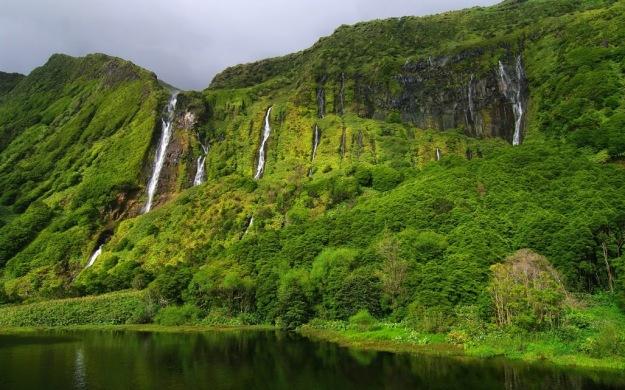 Poço da Alagoinha, Flores island, Azores, Portugal.