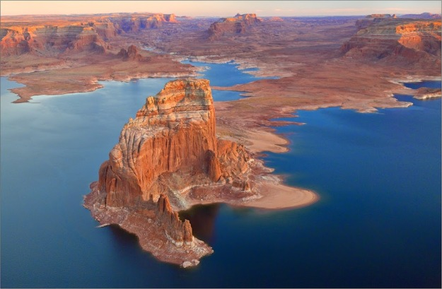 Stone Castles on Lake Powell