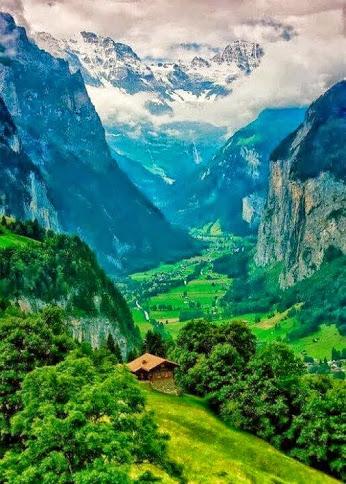 Valley of Dreams - Interlaken, Switzerland by Sonny Marcyan