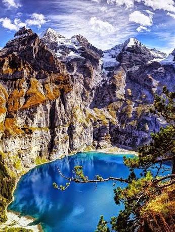 Lake Oeschinen, Switzerland