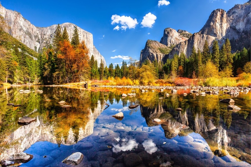 Yosemite Valley in Fall