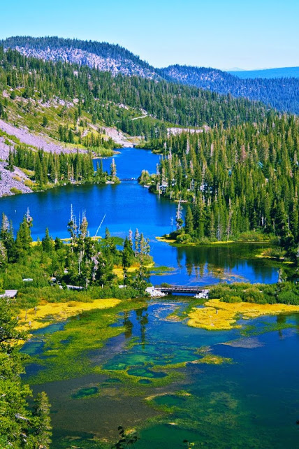 Mammoth lake Californie