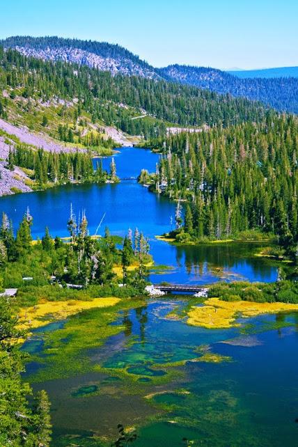 Mammoth lake Californie