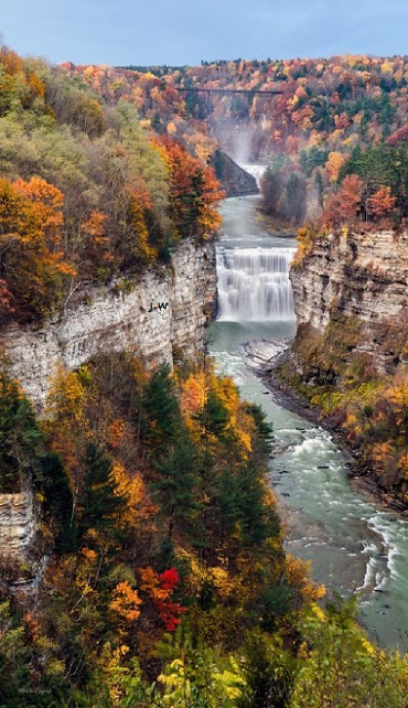 Middle-Falls-Of-Letchworth-State-Park-New-York