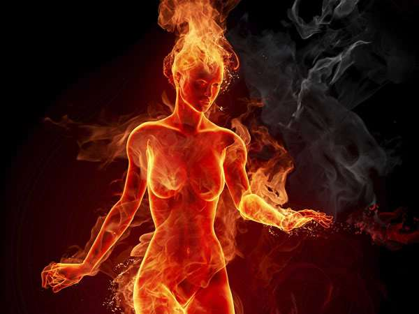 flaming-woman
