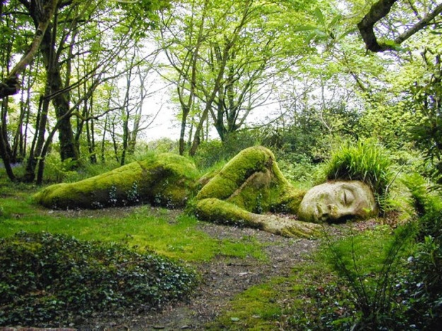 THE LOST GARDEN OF HELIGAN -CORNWALL
