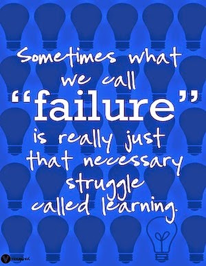 Failure and Struggle.