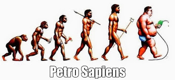 petro sapiens with hoe
