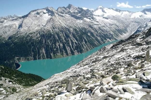 Schlegeis-reservoir