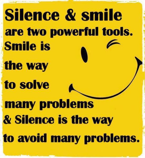 Silence and Smile