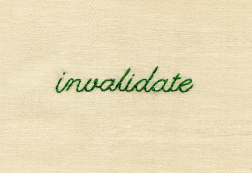 Invalidate