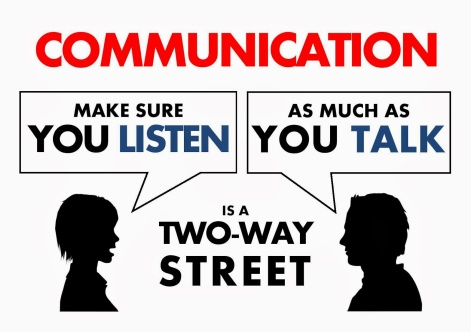 Image result for communication two way street