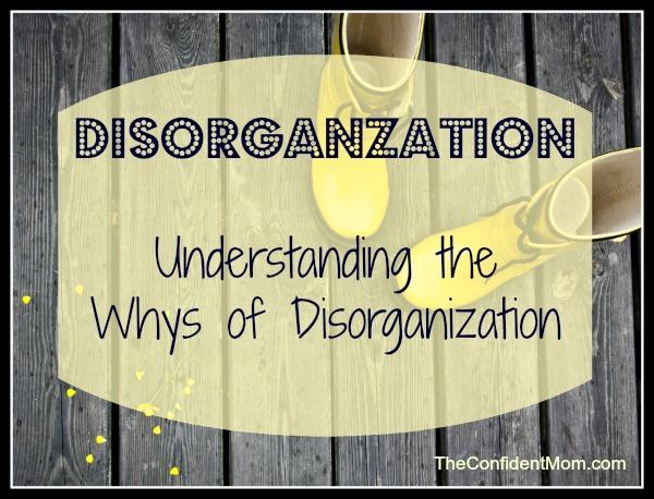 Disorganization-Motherhood