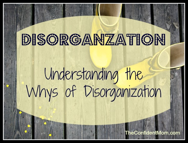 Disorganization-Motherhood