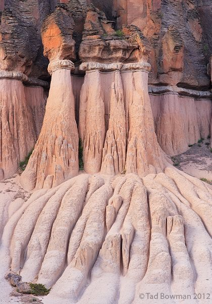 <p>This Colorado photograph depicts hoodoos in the Wheeler Geological Area located in the Rio Grande National Forest</p>