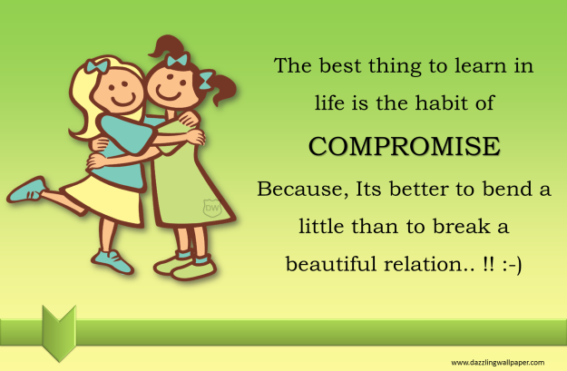 Compromise...