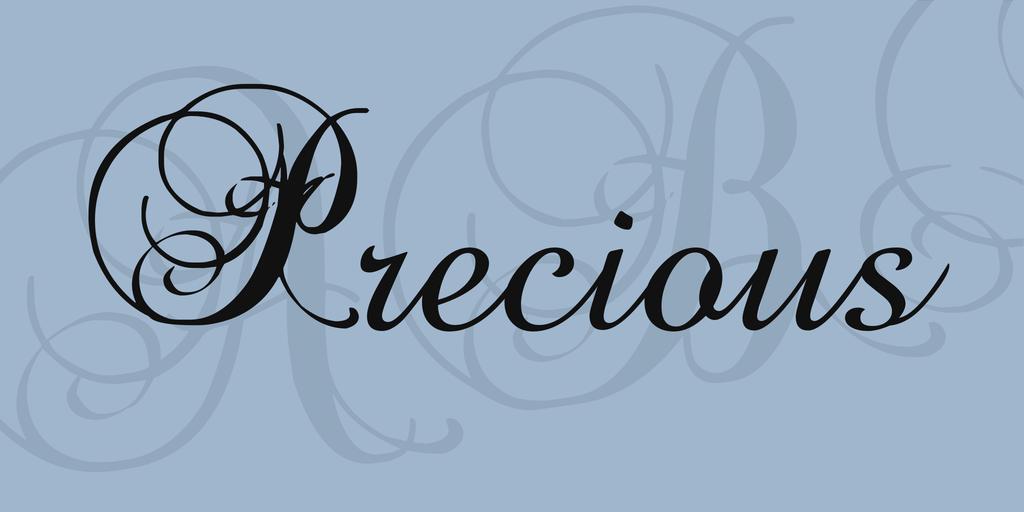 precious-font-1-big